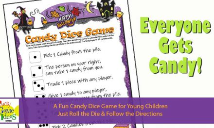 Halloween Candy Dice Game