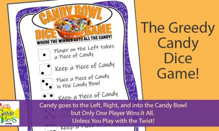 Candy Bowl Dice Game