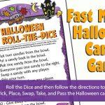 Halloween Roll the Dice