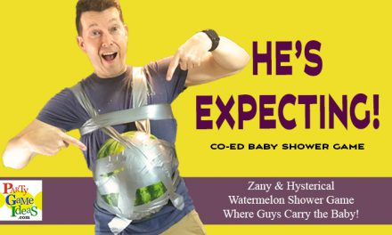 He's Expecting – Watermelon Pregnancy Baby Shower Game