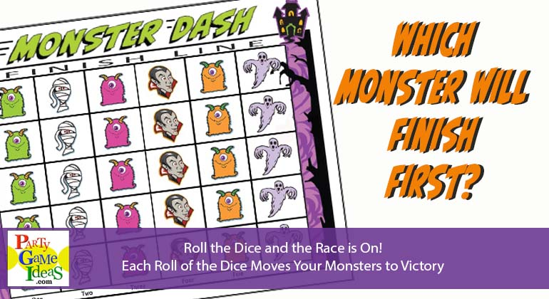Monster Dash Dice Game