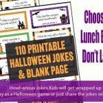 110 Printable Halloween Jokes