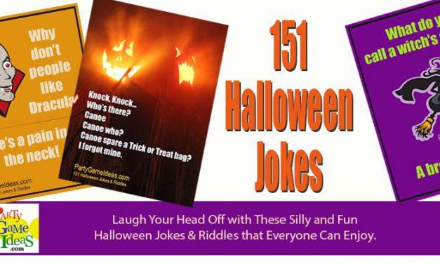 151 Halloween Jokes and Riddles